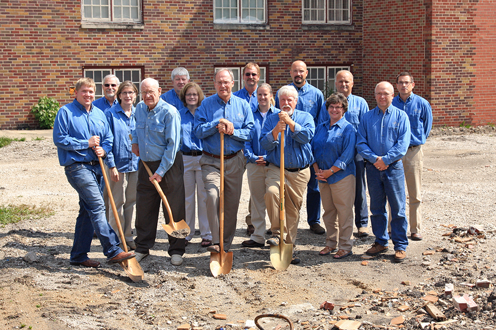 Jefferson Telecom addition ground breaking